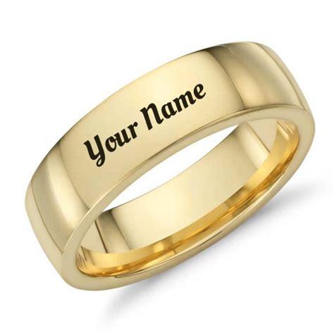 gold band mens nice wedding ring