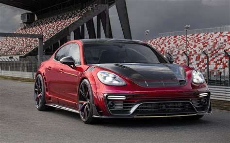 Download Wallpapers Porsche Panamera, Mansory, Tuning