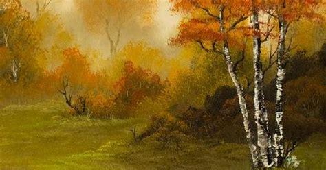 Bob Ross Autumn Splendor Painting
