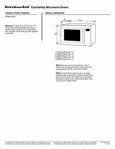 Panasonic Microwave Trim Kit Installation Instructions