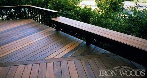 iron woods ipe decking ipe hardwood decking products
