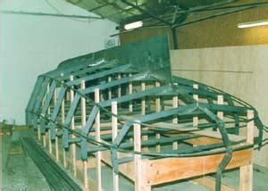 boatbuilding materials  methods steel shrink wrap