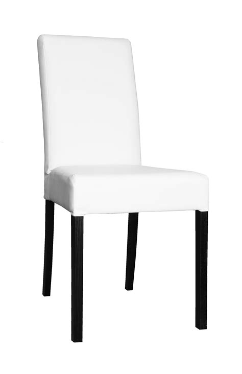 chaise blanche de cuisine rondemlamin blancchrom brillant
