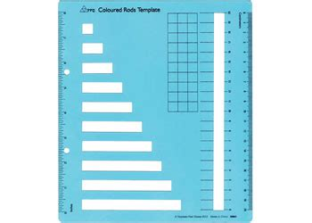 Cuisenaire Rods Templates by Cuisenaire Rods Mathematics