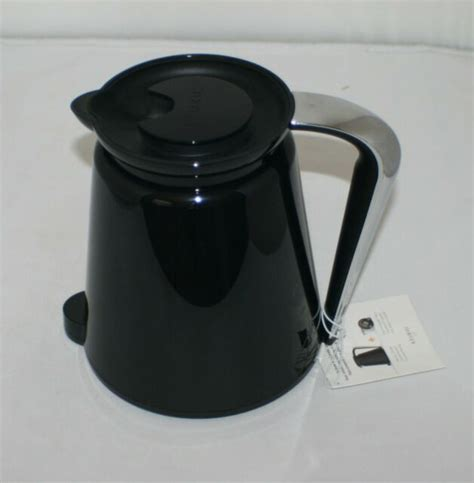 Keurig will, at its option, repair or replace a defective brewer without charge upon its receipt of proof of the date of purchase. Keurig 2.0 Carafe Black w/ Chrome Handle Coffee Tea Pot Replacement Part ~ NWT   eBay