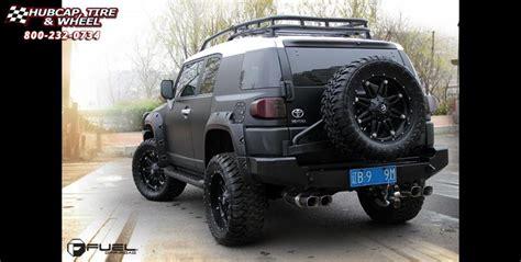 toyota fj cruiser fuel hostage  wheels matte black