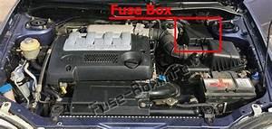 Fuse Box Diagram  U0026gt  Kia Spectra    Sephia  2001