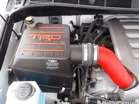 2008 toyota tundra sr5 with trd air intake system