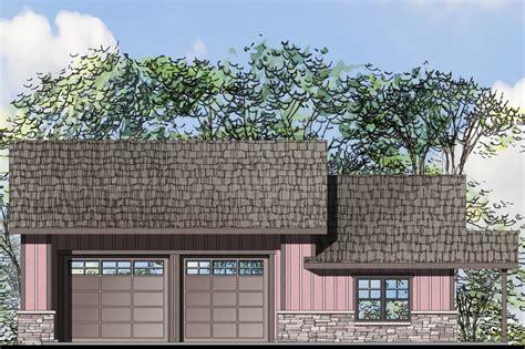 Garage House by Craftsman House Plans Garage W Living 20 076