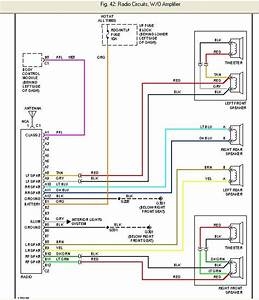 2000 Chevy Cavalier Factory Radio Wire Diagram