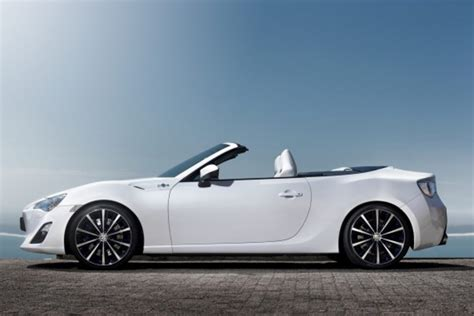 toyota convertible toyota ft 86 convertible concept freshness mag