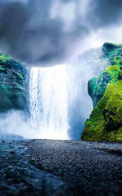Kindle Fire Hdx Waterfall Dreamy Hdwallpapers Wallpapers