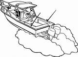 Boat Coloring Boats Decals Fishing Trailer Colouring Decal Canal Vinyl Line Customize Gus Signspecialist Again Bar Looking Case Don sketch template
