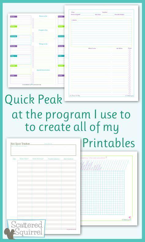 quick peak     printables    images