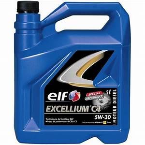 Diesel Excellium : huile moteur elf excellium c4 5w 30 5l feu vert ~ Gottalentnigeria.com Avis de Voitures