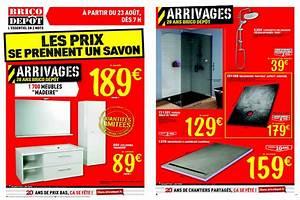 Meuble Salle De Bain Promo Destockage : catalogue brico depot douche salle bain septembre 2013 page 1 ~ Teatrodelosmanantiales.com Idées de Décoration