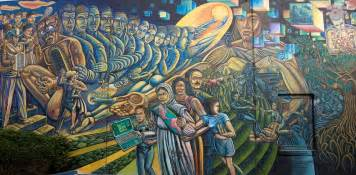 news release csula cal state l a los angeles csu walls of murals of los angeles