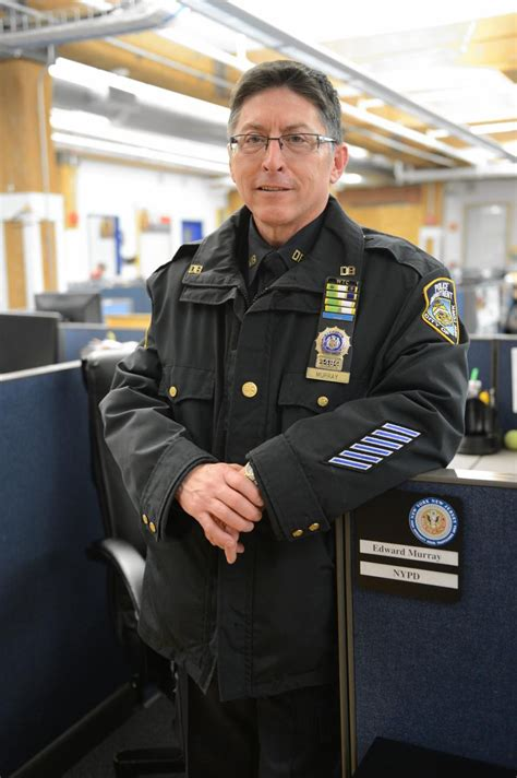 detective edward murray spends  day  job