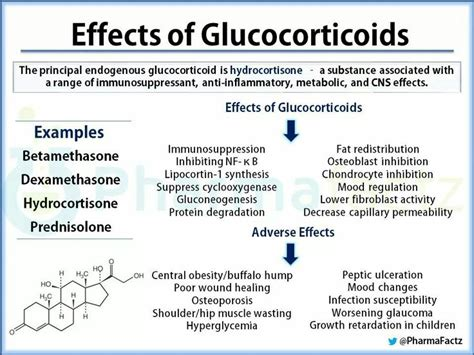 glucocorticoid effects pharmacology nursing