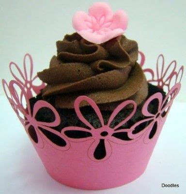 Silhouette Cameo Cupcake Wrappers