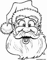 Coloring Santa Christmas Printable Pages Claus Merry Colouring Natale Colorare Babbo Mustache Children Sheet Says Disegno Sheets Da Face Printouts sketch template