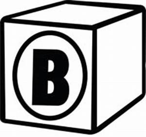 Black and White Alphabet Clipart