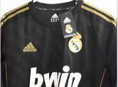 CAMISETA REAL MADRID NEGRA RONALDO 20112012MP4 YouTube
