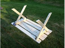picnic table with separate benches plans 28 images