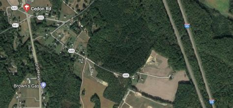 route  cedon road caroline county virginia