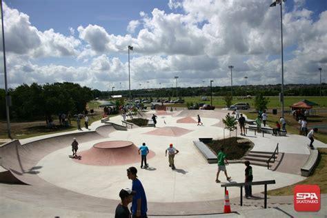 cedar park texas brushy creek skatepark spaskateparkscom