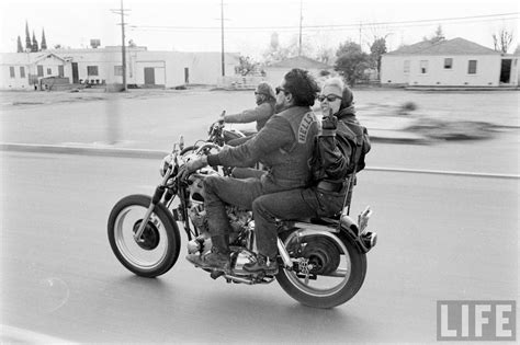 Hitching A Ride With Hell's Angels & Friends