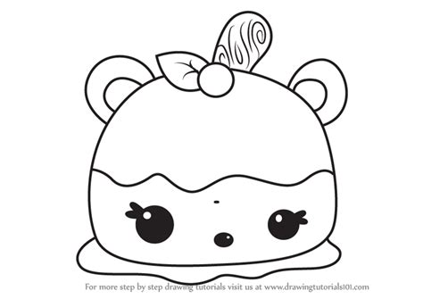 Learn How To Draw Annie Apple From Num Noms (num Noms
