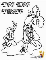 Pirate Coloring Pages Pee Wee Boys Yescoloring Scurvy Costume sketch template