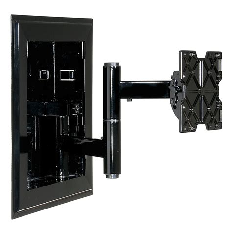 peerless in wall articulating wall mount for 32 71 inch