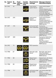 Bmw M3 Dashboard Symbols