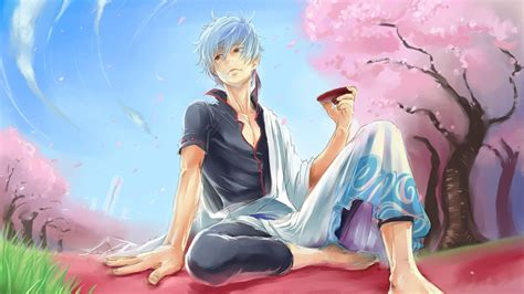 sakata gintoki hd wallpaper background image