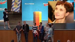 WATCH Germany39s New Right Leader Schools Brainwashed