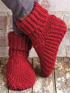 Slipper Boots Crochet Pattern Free