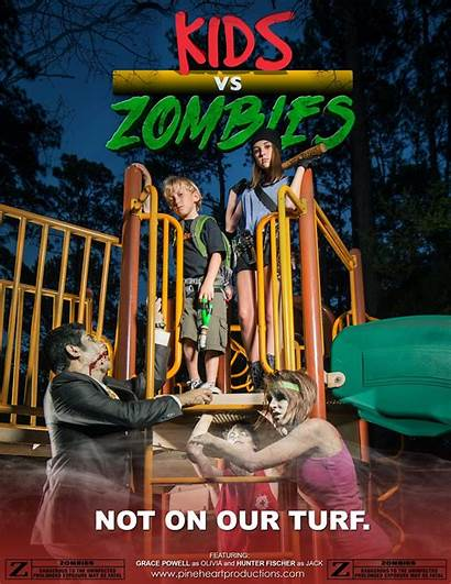 Zombies Zombie Kid Friendly Action Ages Courtney