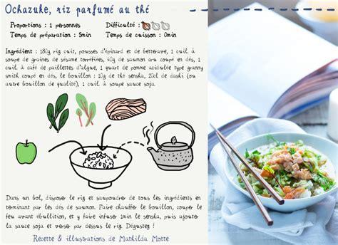 cuisine japonaise recette facile cuisine en bandoulière les recettes à emporter de mathilda