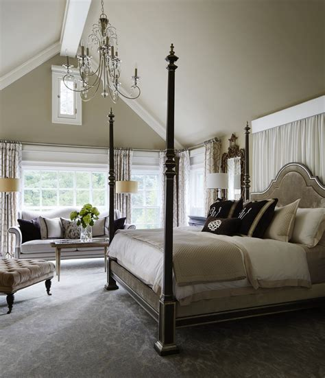 gorgeous gray  white bedrooms traditional home