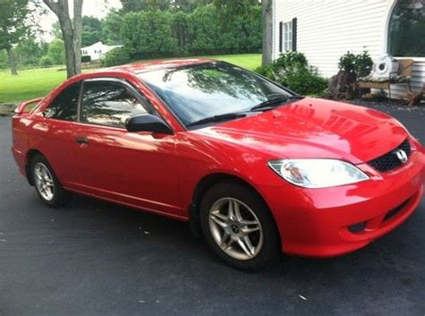Buy Used 2004 Honda Civic Ex Coupe 2-door 1.7l In Suffield