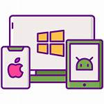 Platform Cross Icons Icon Ios App Android
