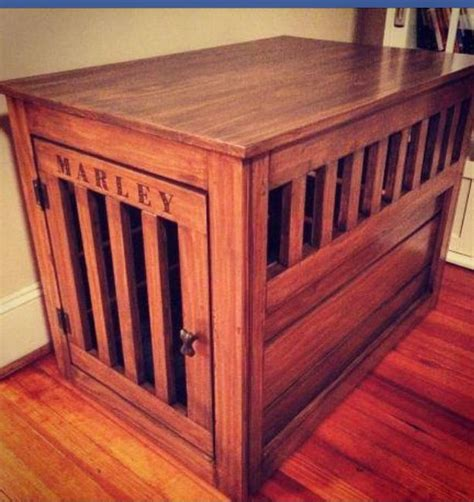 large wood dog crate plans woodworking projects plans