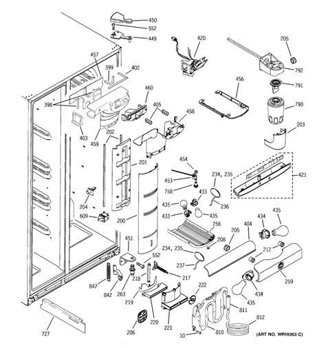 ge profile refrigerator replacement parts reviewmotorsco