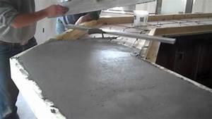 Concrete Countertops Pour La Crosse, WI, Dublin Square