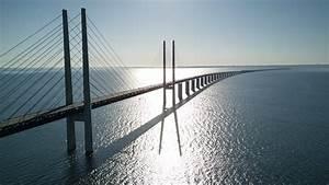 U00d6resund Bridge Sweden Denmark