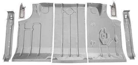 1964 67 Chevelle Trunk Pan Kits, Steel 7 Piece @ OPGI.com