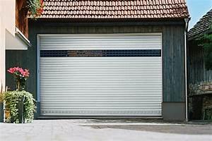 Porte De Garage A Enroulement : portes de garage ~ Dailycaller-alerts.com Idées de Décoration
