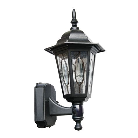 shop portfolio 1513 in h white outdoor wall light at
